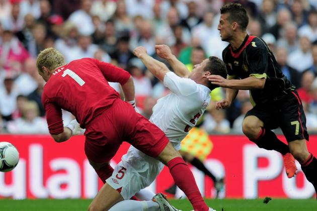 Euro 2012: England's Gary Cahill Ruled out of Tournament with Broken Jaw