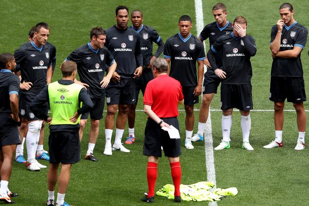 Euro 2012 Tactical Breakdown: What to Expect from England