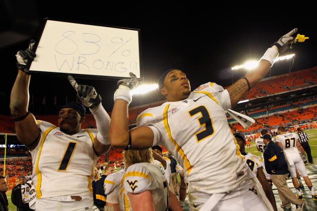 West Virginia Football: What You Need to Know About WVU Receiver Stedman Bailey