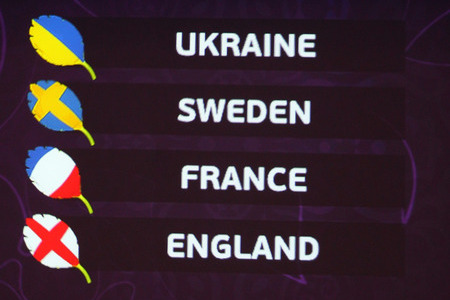 Euro 2012: Group D Preview: Ukraine, England, France, Sweden
