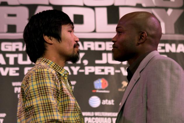 Pacquiao vs. Bradley: Pac-Man's Focus Will Trump Desert Storm's Bravado
