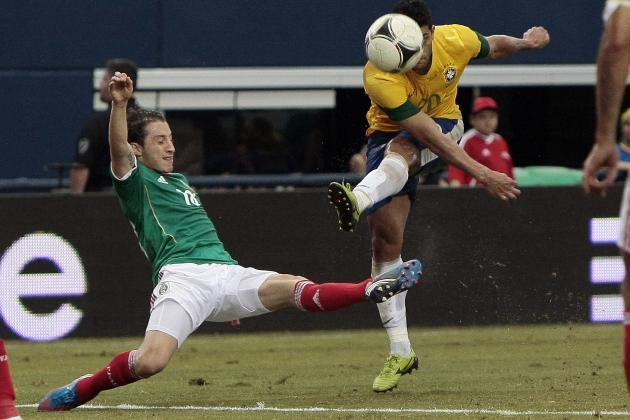 Brazil vs. Mexico: Mexicans Defeat Strong Brazilian Squad
