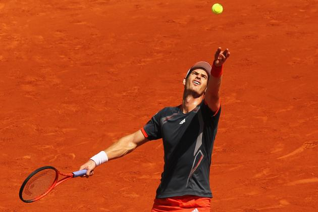 French Open 2012: Andy Murray Prepares to Walk the Green Mile
