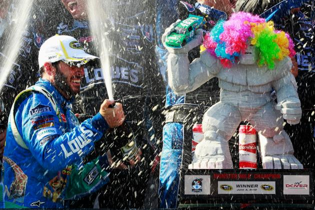 Jimmie Johnson:  Monster Tamer at Dover
