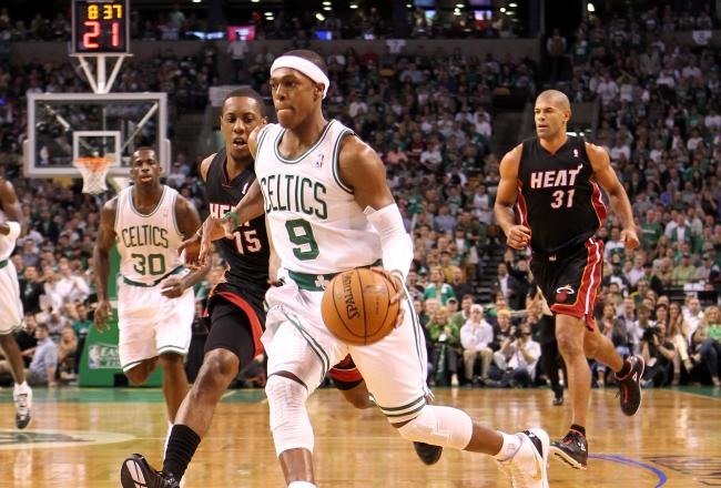 Rajon Rondo gave Boston the lead with just over three minutes remaining.