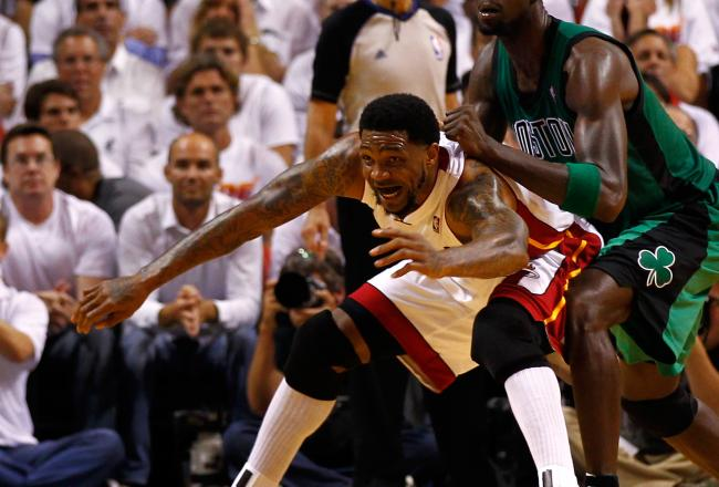 Udonis Haslem missed a potential game-winner.