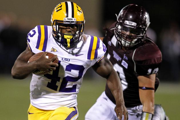 LSU Football: What You Need to Know About Tigers RB Michael Ford