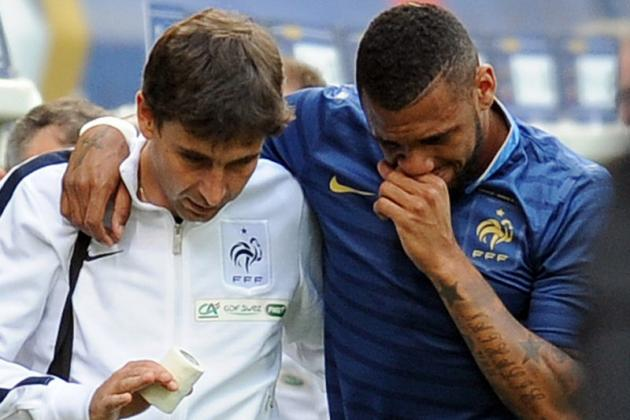 Yann M'Vila Ruled out of France's Euro 2012 Opener Against England
