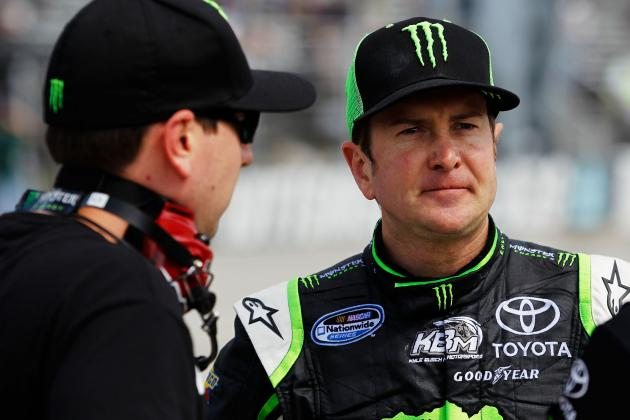 NASCAR Suspends Kurt Busch, Extends His Probation
