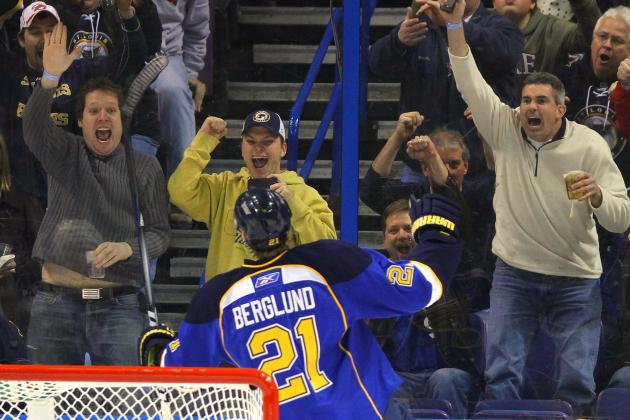 St. Louis Blues: Looking Back on My First NHL Game