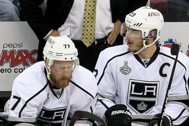 Stanley Cup 2012: Kings Players That Must Come Up Big for Series Sweep