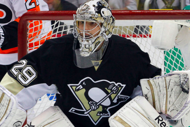 Pittsburgh Penguins: Tomas Vokoun Signing Will Jolt Marc-Andre Fleury in 2013