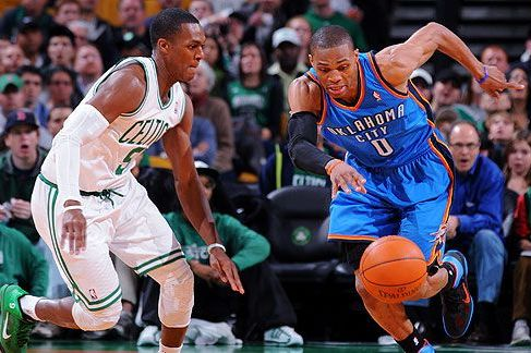 Why Rajon Rondo vs. Russell Westbrook Is a PG Matchup Made for the NBA Finals