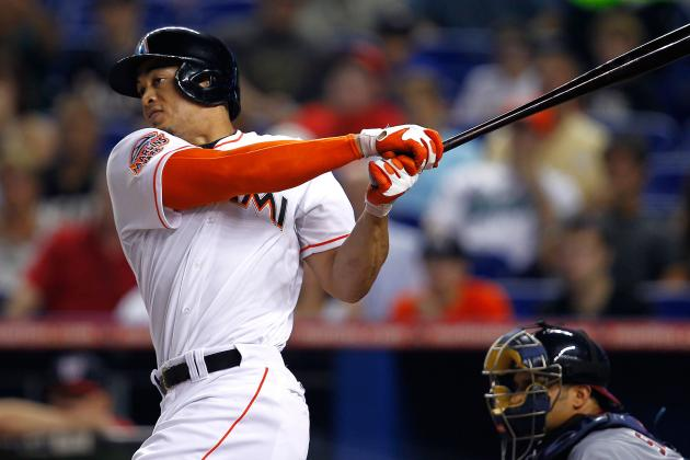 Giancarlo Stanton Joins Joe DiMaggio as Only Players Since 1920 to Complete Feat