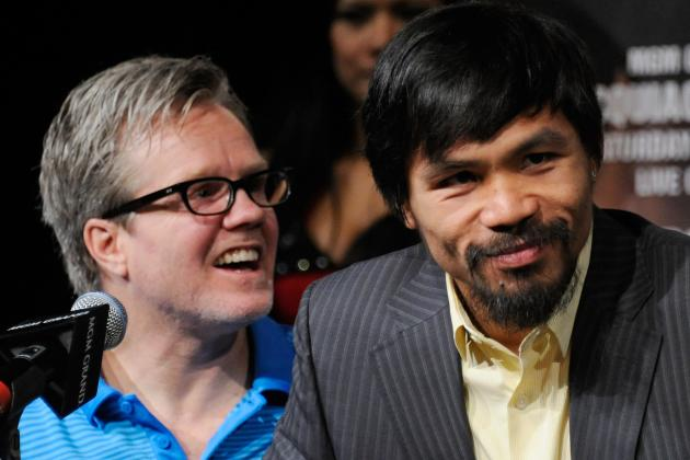 Manny Pacquiao: Retirement Talk Is Pure Sensationalism from Freddie Roach