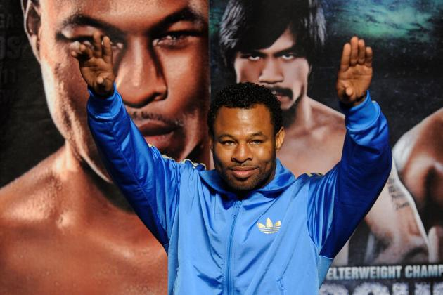 Shane Mosley Announces Retirement from Boxing
