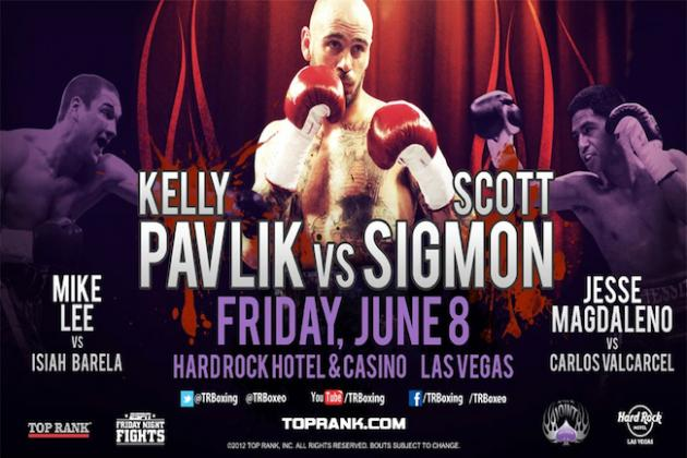 Kelly Pavlik vs. Scott Sigmon: Fight Time, Date, Live Stream, Preview and More
