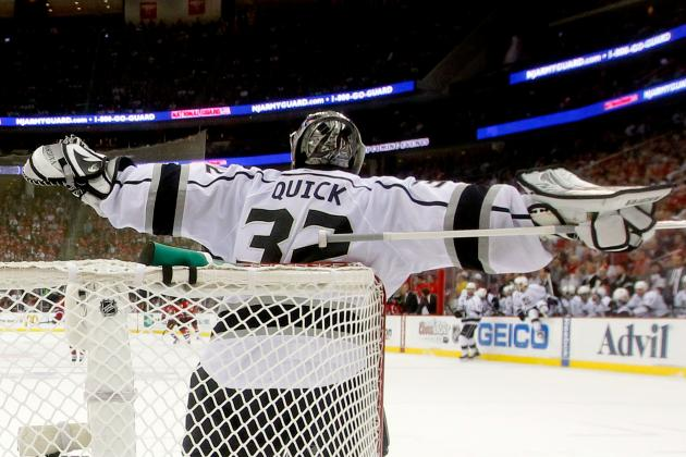 Stanley Cup Finals 2012: Is Jon Quick One of the Best Playoff Goalies Ever?