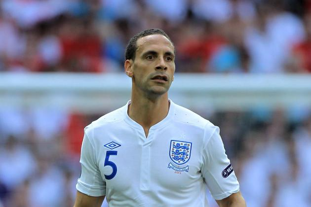 Euro 2012: Rio Ferdinand's Exclusion from the England Squad