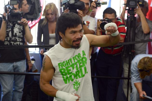 Pacquiao vs. Bradley: Updated Money Odds for Vegas Event