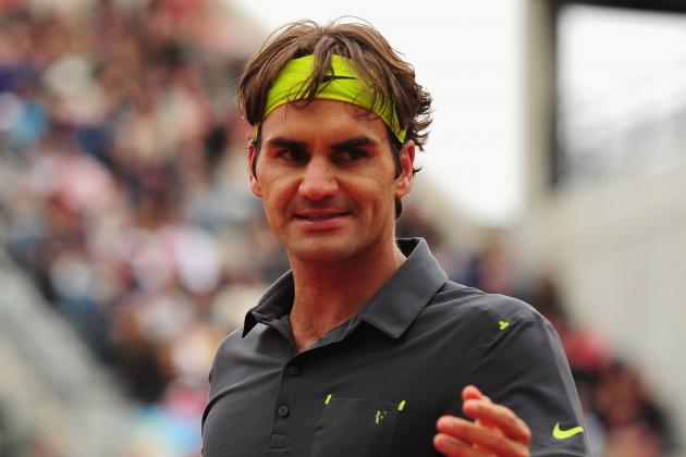 Roger Federer Defeats Juan Martin del Potro to Advance to 2012 French Open Semis