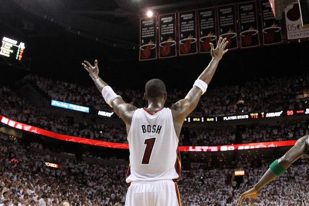 NBA Playoffs 2012: Chris Bosh's Status Will Determine Miami's Fate