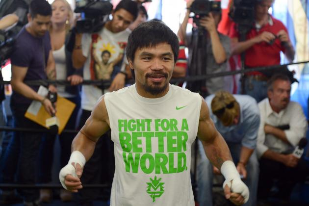 Manny Pacquiao: Religious Devotion Won't Change Pac-Man's Killer Instinct