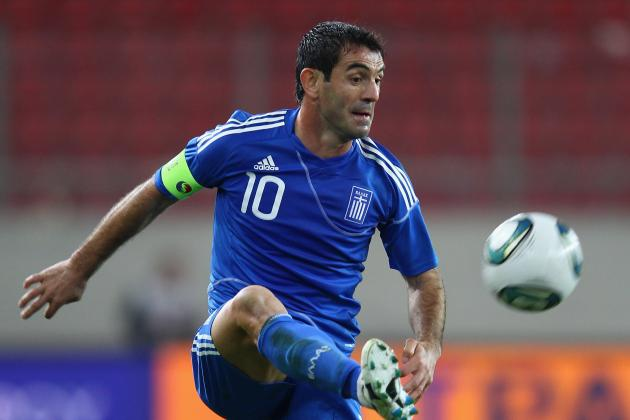 Euro 2012 Players to Watch: Giorgos Karagounis of Greece
