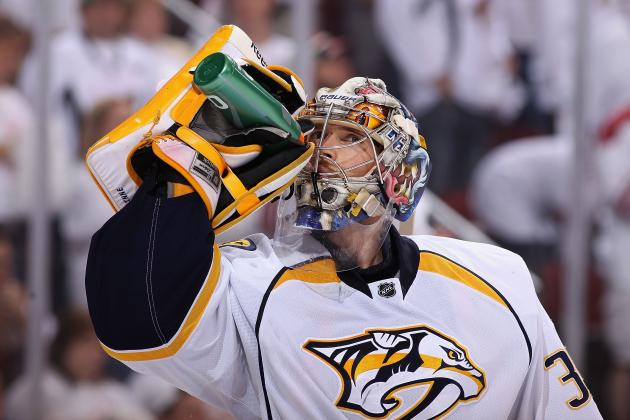 NHL 13 Cover Vote: Pekka Rinne Would Be Most Interesting Man on Cover