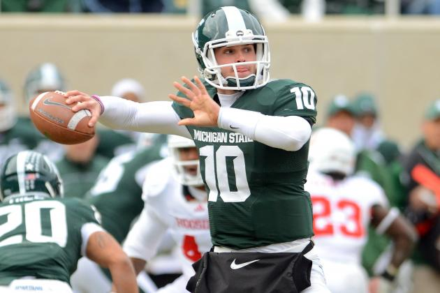 As Expected, Sparty QB Back with Teammates for Workouts