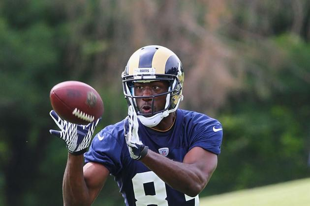 St. Louis Rams: Ranking the Rams' Receivers, Worst to First