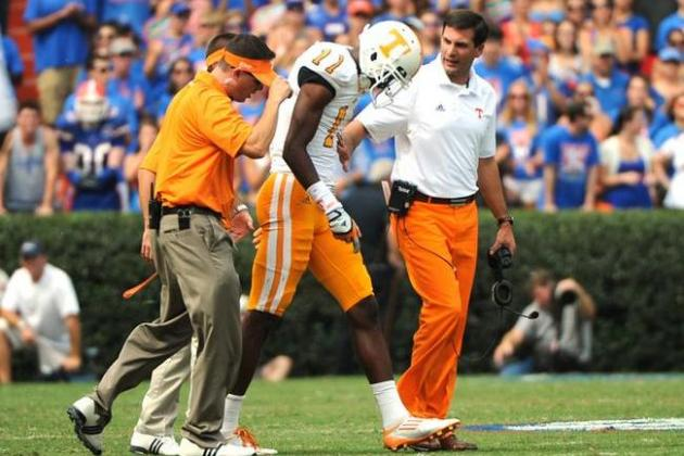 Tennessee Volunteers Football: Are We Expecting Too Much from Justin Hunter?