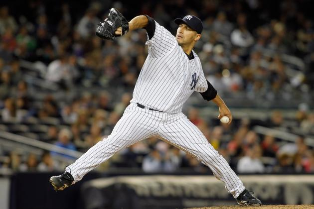Andy Pettitte K's 10 in Another Dominant Performance as Yankees Blank Rays 7-0