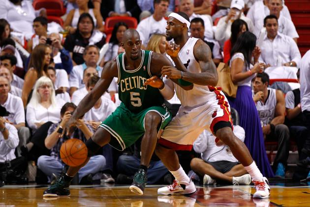 2012 NBA Playoffs: Boston Celtics Leave Miami with Huge Game 5 Victory