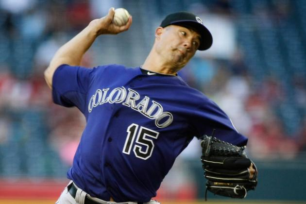 NL Worst of the Night: Jeremy Guthrie Bombed Again in Rockies' 10-0 Loss