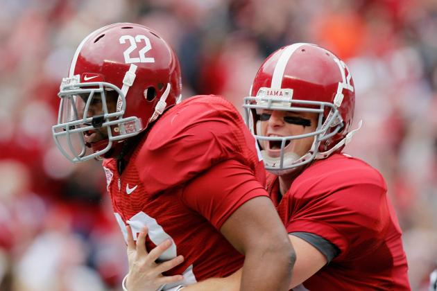 Debate: Rank the Top 3 RBs in Alabama History