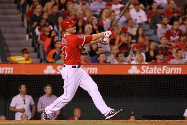Mark Trumbo: LA Angels Slugger Blasts His Way to AL Best of the Night Honors