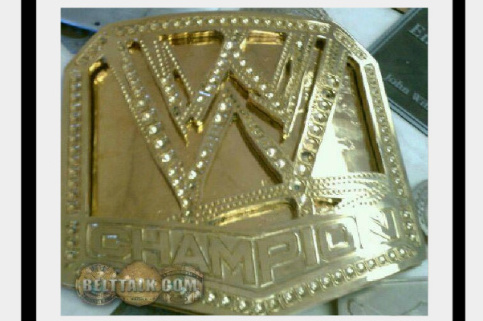 WWE News: Photo of Possible New WWE Title Belt Revealed
