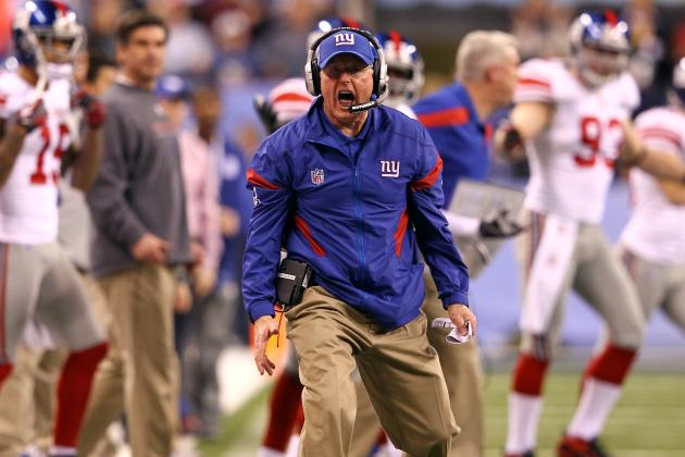 Where Does Tom Coughlin Rank Amongst New York Giants Coaches?