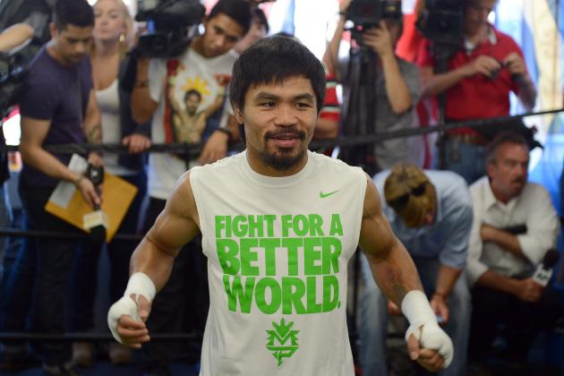 Pacquiao vs. Bradley: Why Pac-Man Won't Underestimate Desert Storm