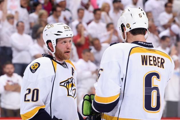 Nashville Predators: Who Should Be Kept, Ryan Suter or Shea Weber?