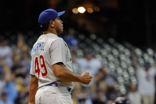 NL Worst of the Night: Carlos Marmol Melts Down Again as Cubs Lose, 8-0
