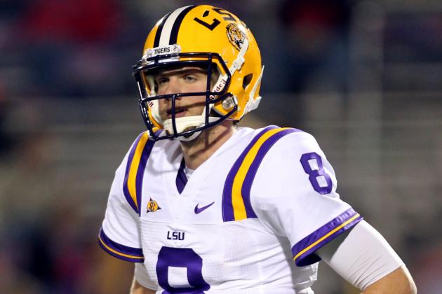 SEC Football Top 150 Players: No. 84, Zach Mettenberger, LSU QB