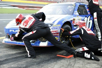 FYI WIRZ: NASCAR's Greg Biffle and Matt Kenseth Take Lead to Shortened Pocono