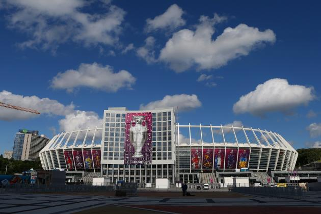 Euro 2012 TV Schedule: Full Channel Listing and Start Times for This Weekend