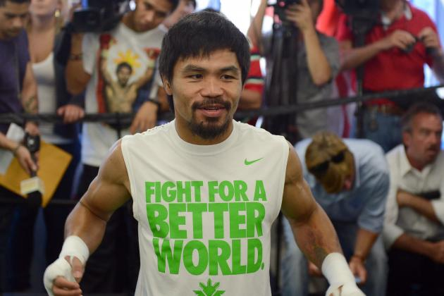 Manny Pacquiao Says Boxing, and Life, Is Still Serious Business