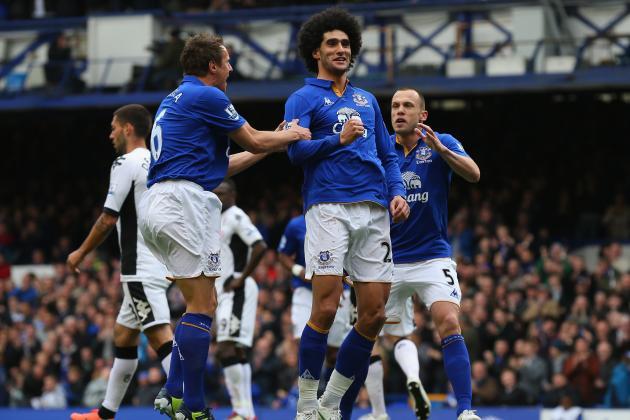 Chelsea Transfer Rumours: Marouane Fellaini Would Complete Blues' Midfield