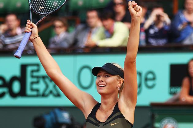 Maria Sharapova Defeats Petra Kvitova to Advance to French Open 2012 Finals