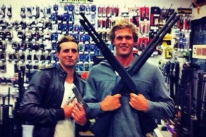 London 2012: Australia Olympic Swimmers in Trouble over Gun Photo