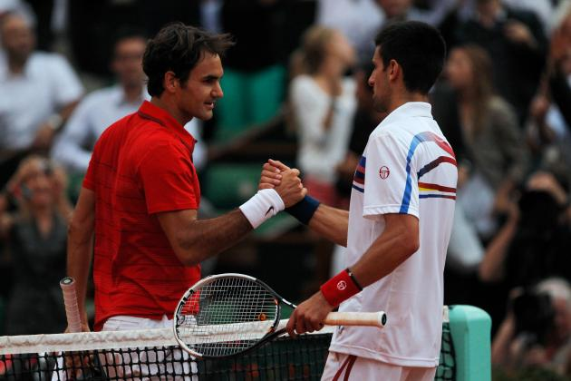 French Open 2012: Rafael Nadal vs David Ferrer, Novak Djokovic vs Roger Federer